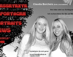 Loona auf Mallorca Journalistin auf Mallorca