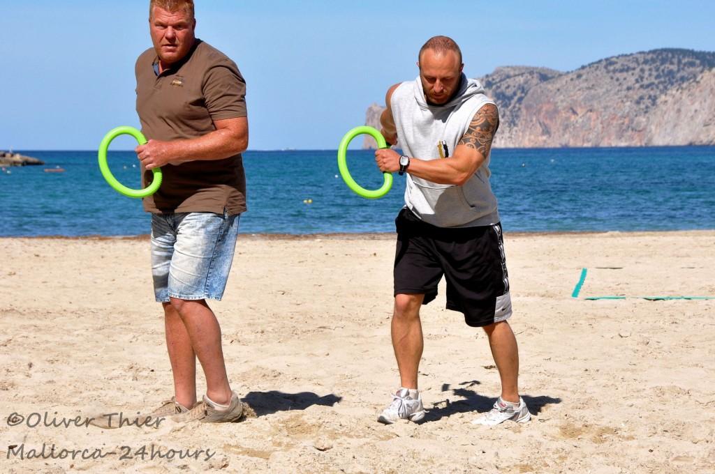 Sport am Strand Mallorca