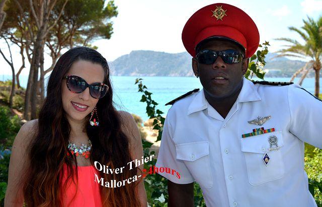 Captain Jack Sänger Bruce und Sängerin Michelle