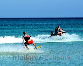 Wassersport Strand Mallorca