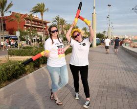 Fußball EM Deutschland Mallorca 16 Playa de Palma