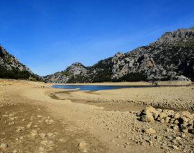 Stausee Gorg Blau Tramuntana Gebirge Mallorca