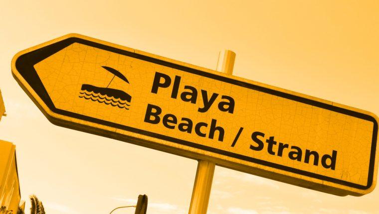 Wasserknappheit an der Playa de Palma