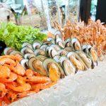 Meeresfrüchte Messe